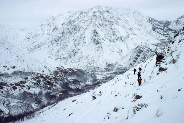 10 Photos to Inspire a Winter Trek of Morocco's Mount Toubkal