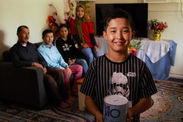 Bushfire appeal inspires young Afghan refugee who lost family in terror attack to dig deep