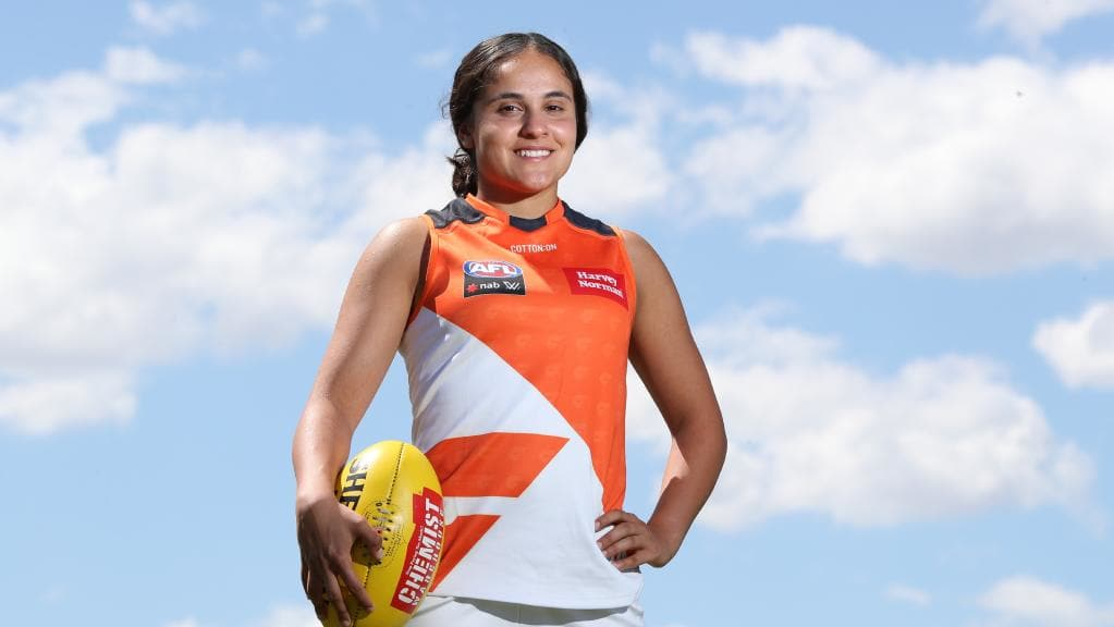 Haneen Zreika – the only Muslim woman in the AFLW