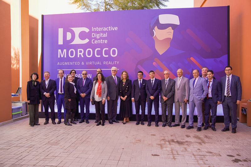 Morocco Launches First Interactive Digital Center in North Africa