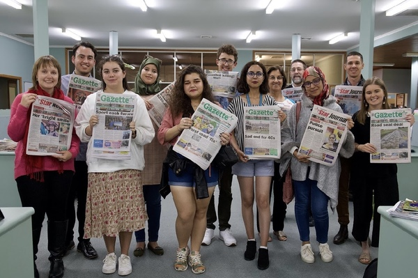 Moroccan journalism students visit Star News