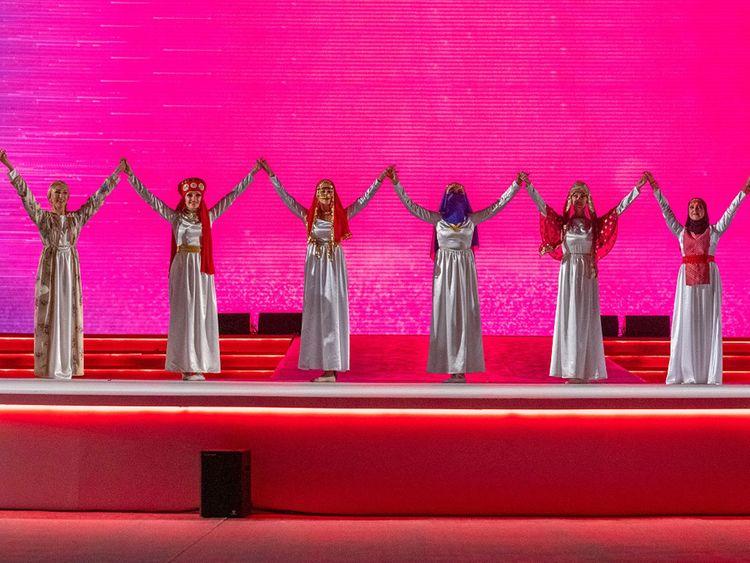 Arab Women Sports gets under way with fanfare in Sharjah