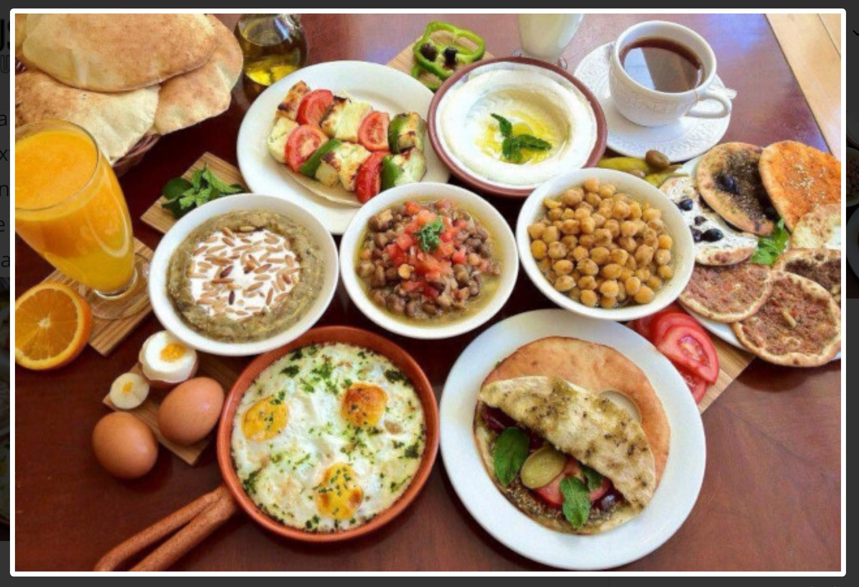Lebanese Cuisine Masterclass: Tarwee'ah Middle Eastern Breakfast Event status: Islamic Museum of Australia13 February 2020
