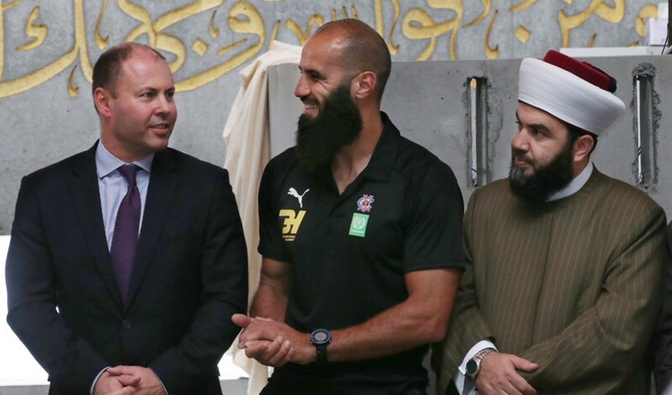 Muslim AFL star Bachar Houli welcomes youth work grant as government boosts anti-hate program
