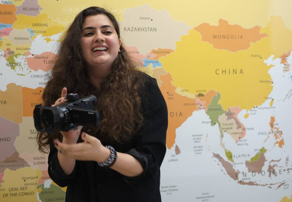 Refugee scholarship winner calls for more 'stories empowered by women'